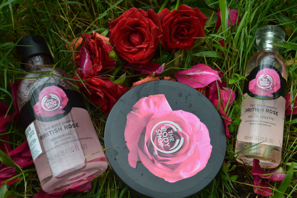 Product Review: The Body Shop- British Rose Collection